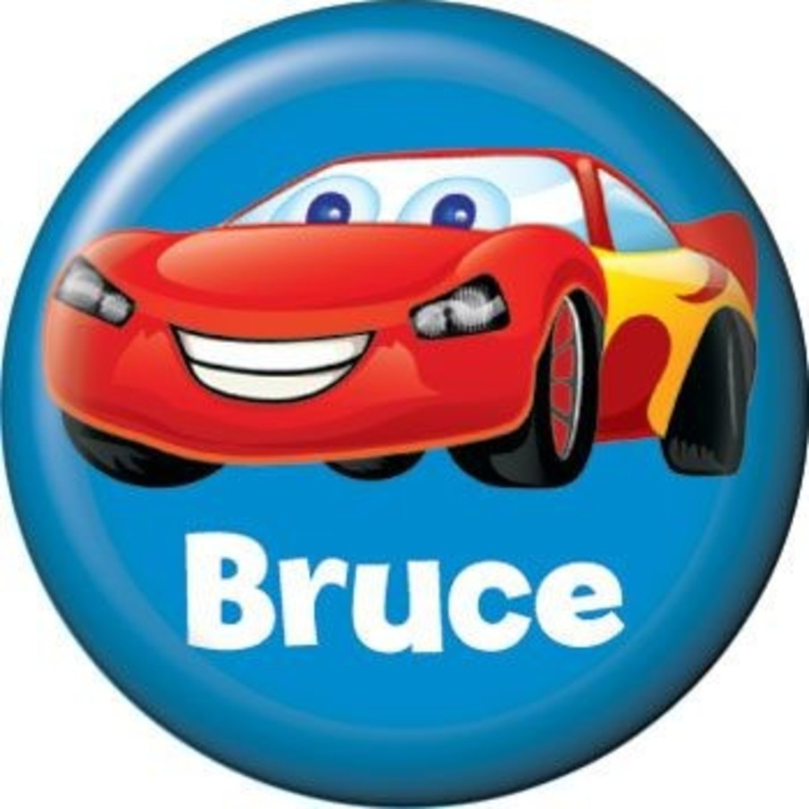 View larger image of Cars Too Personalized Mini Magnet (each)
