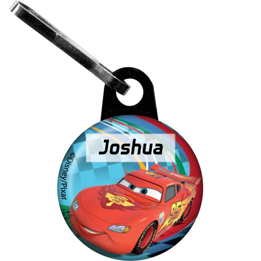 View larger image of Cars Too Personalized Mini Zipper Pull (Each)