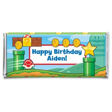 Cart Brothers Personalized Candy Bar Wrapper (Each)