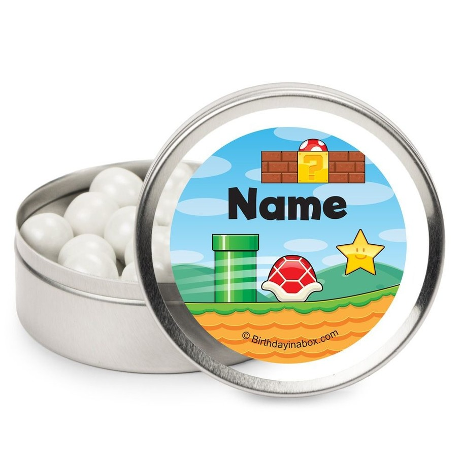 View larger image of Cart Brothers Personalized Candy Tins (12 Pack)