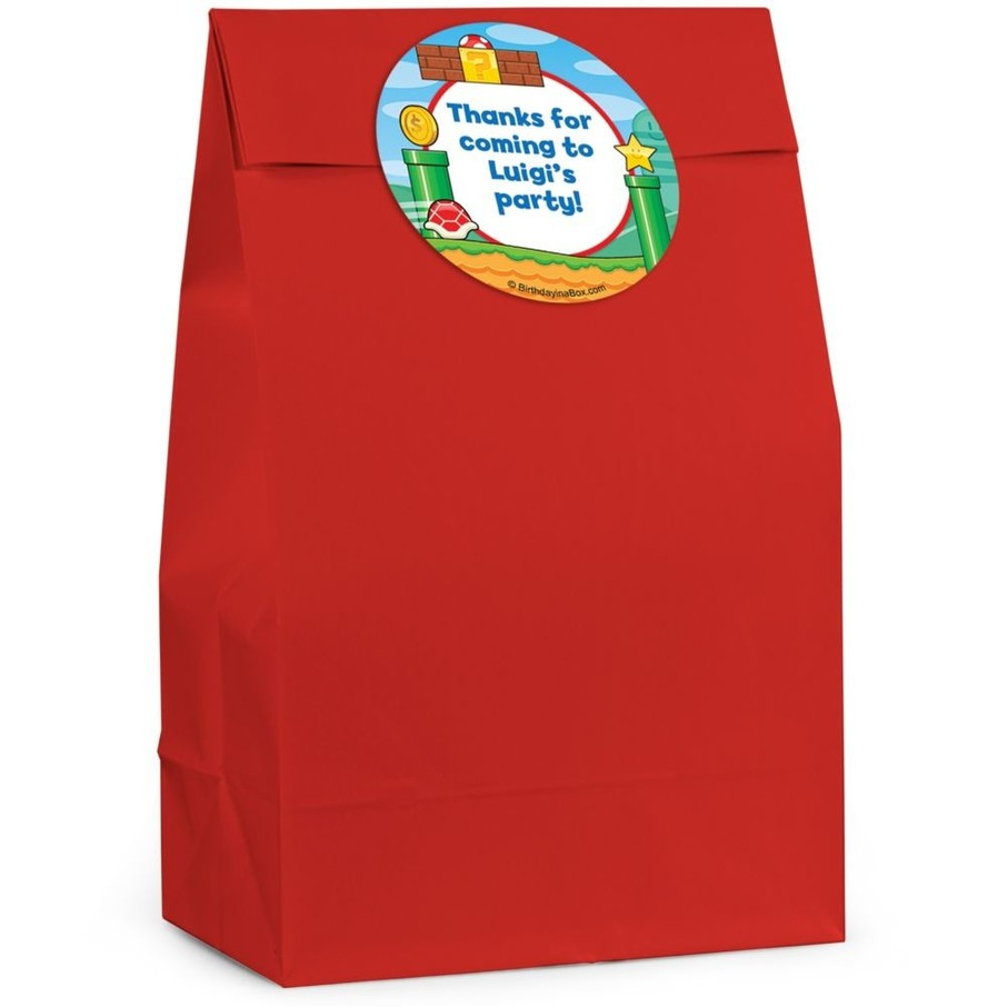 View larger image of Cart Brothers Personalized Favor Bag (Set Of 12)