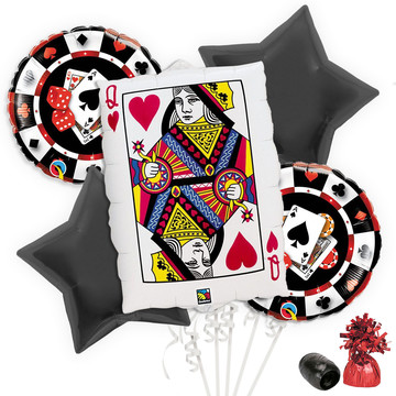 Casino Balloon Bouquet Kit