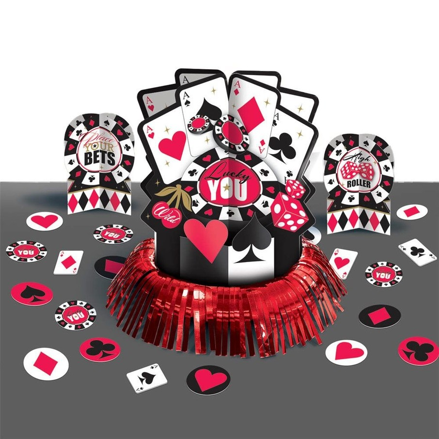 View larger image of Casino Centerpiece Table Decorating Kit (Each)