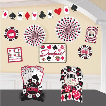 Casino Decorating Kit (Each)