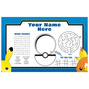 Catch 'Em All Personalized Activity Mat (Each)