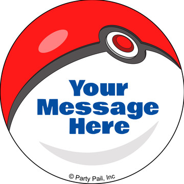 Catch 'Em All Personalized Mini Stickers (Sheet of 24)