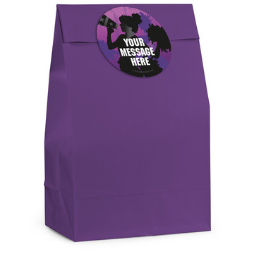 Cheerleading Personalized Favor Bag (12 Pack)
