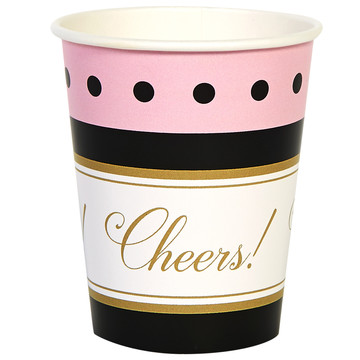 Cheers To You 9oz Paper Cups (8)