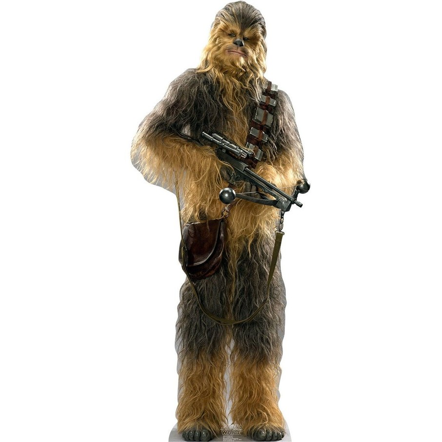 View larger image of Chewbacca (Star Wars VII: The Force Awakens) Cardboard Standup (Each)