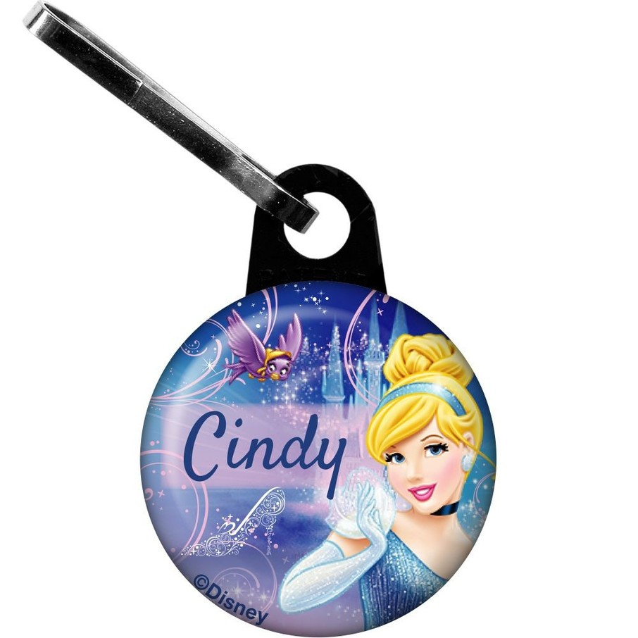 View larger image of Cinderella Personalized Zipper Pull (Each)
