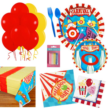 Circus Party Essentials Kit , Serves 16