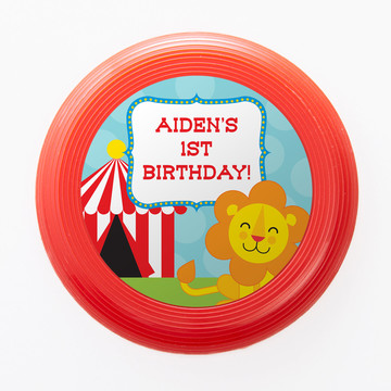Circus Personalized Mini Discs (Set of 12)