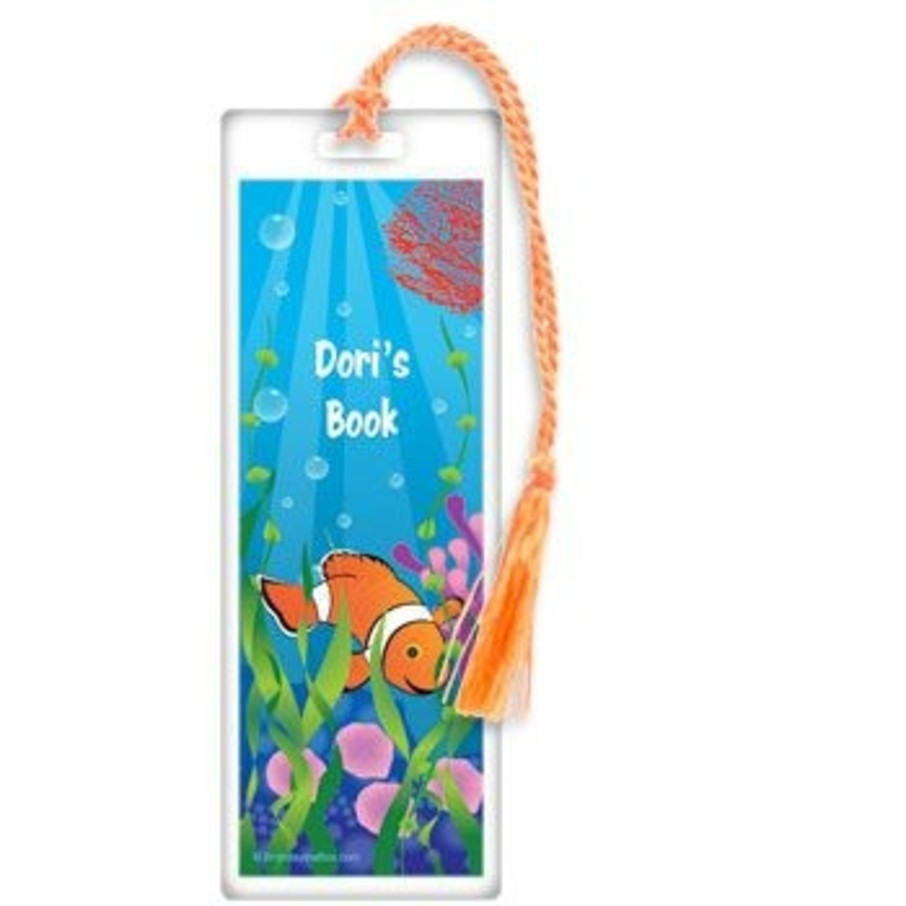 View larger image of Clownfish Personalized Bookmark (each)