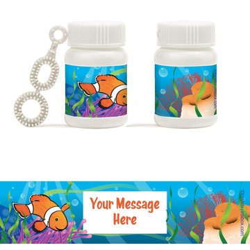 Clownfish Personalized Bubbles (18 Pack)