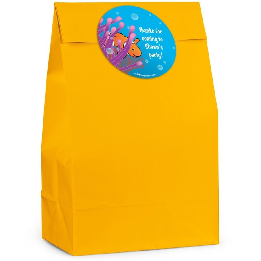 View larger image of Clownfish Personalized Favor Bag (Set Of 12)