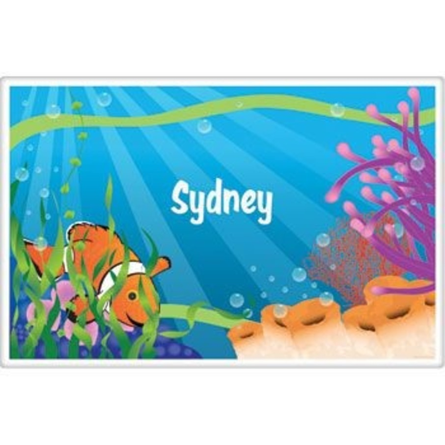 View larger image of Clownfish Personalized Placemat (each)