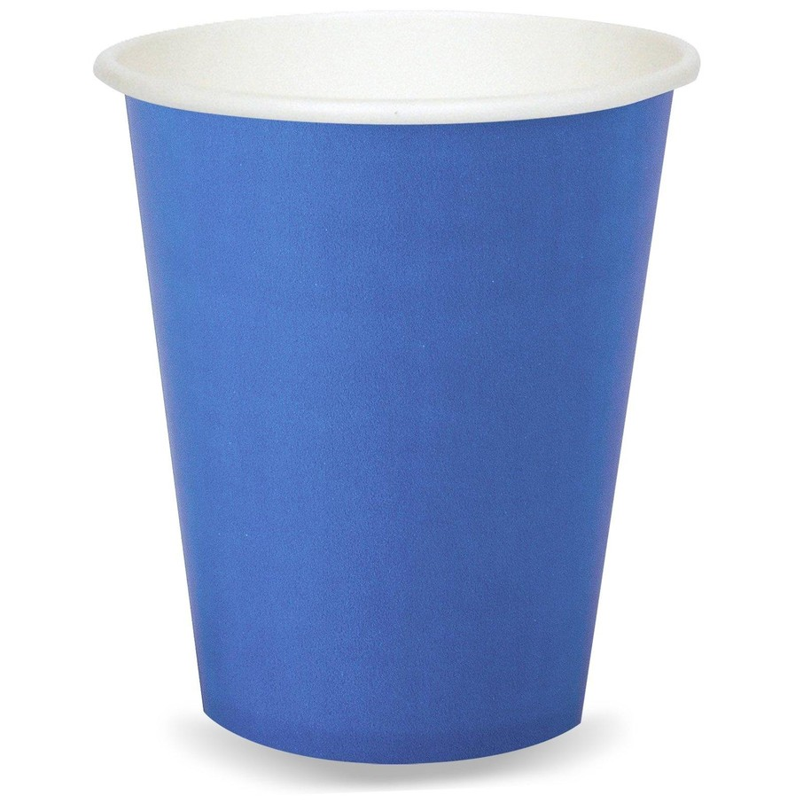 View larger image of Cobalt Blue 9 oz. Paper Cups (8 Count)