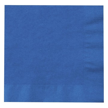 Blue Lunch Napkins (50)