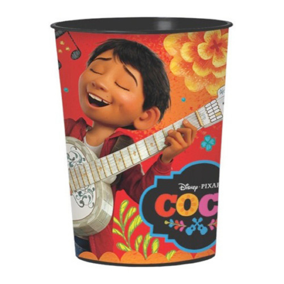 View larger image of Coco 16oz Plastic Favor Cup (1)