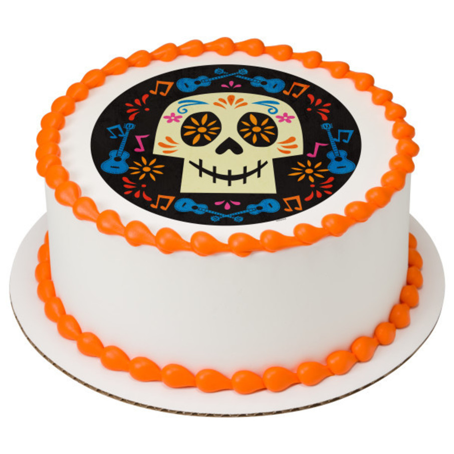 """View larger image of Coco 7.5"""" Round Edible Cake Topper (Each)"""