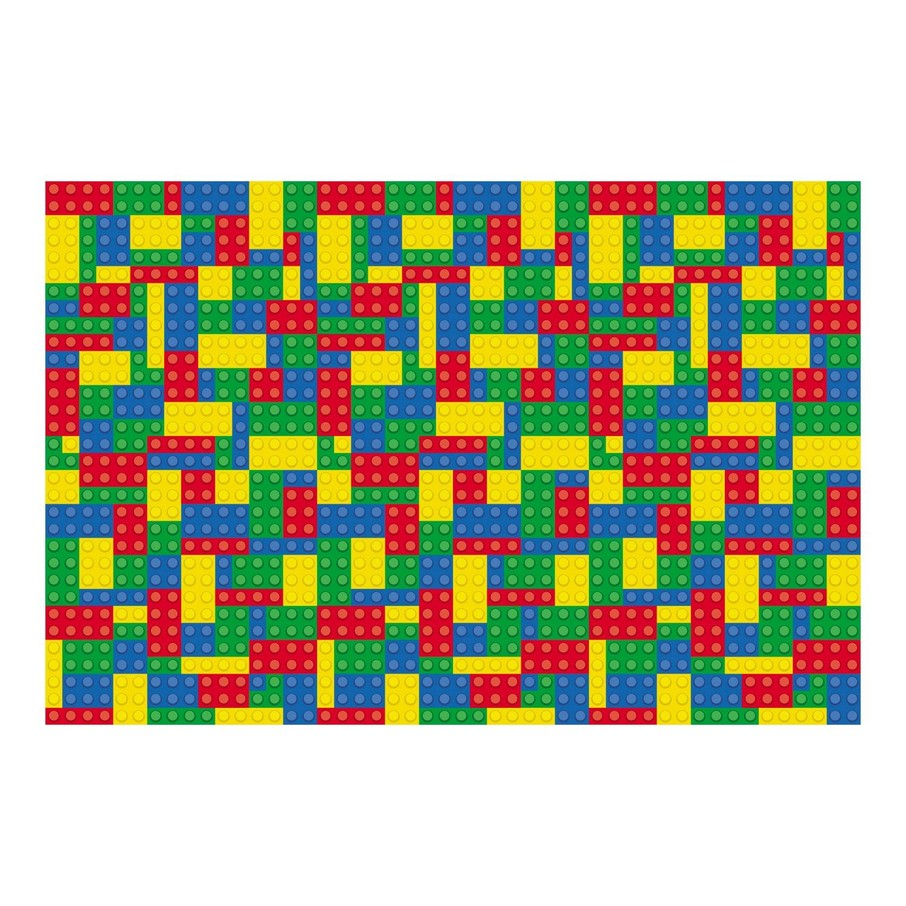 View larger image of Color Brick Party Backdrop Banner
