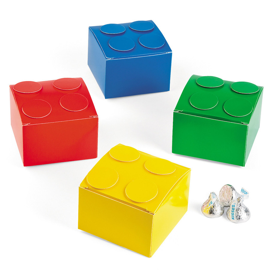 View larger image of Color Brick Party Favor Boxes (12 Count)