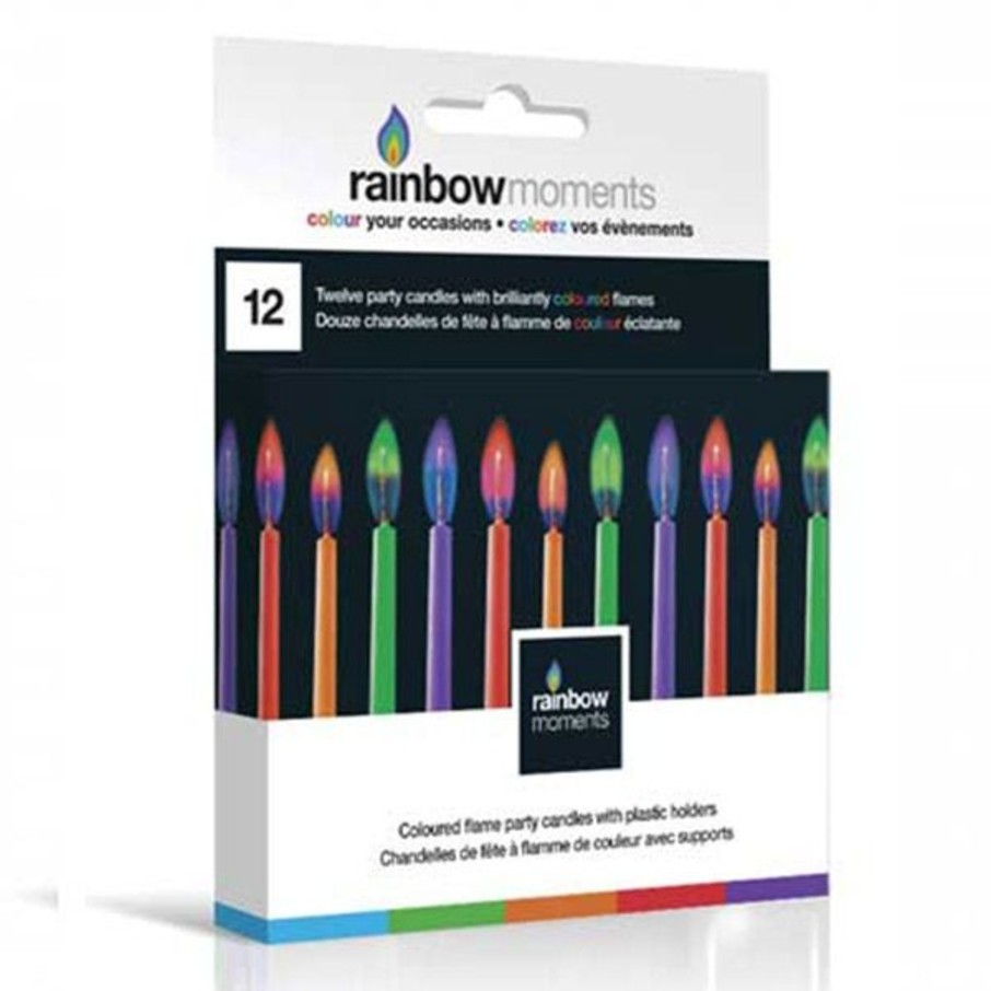 """View larger image of Color Flame 2"""" Candles (12 Pack)"""