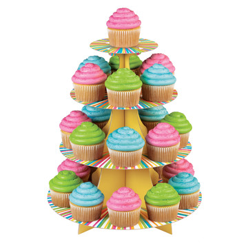 Colorful Cupcake Stand