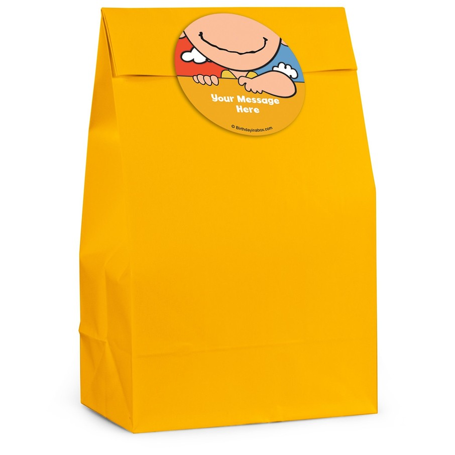 View larger image of Comic Strip Kids Personalized Favor Bag (12 Pack)