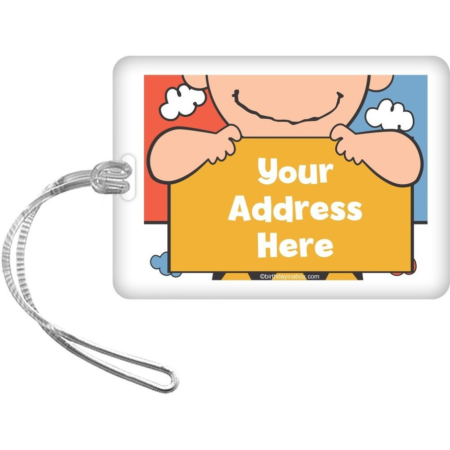 View larger image of Comic Strip Kids Personalized Luggage Tag (Each)