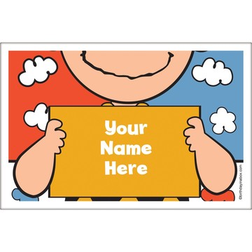Comic Strip Kids Personalized Placemat (Each)