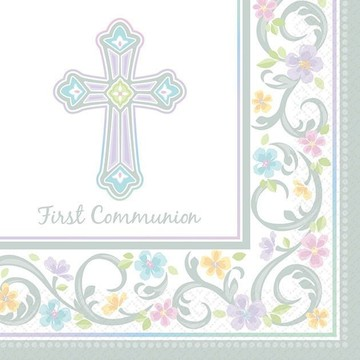 Communion Luncheon Napkins (36 Pack)