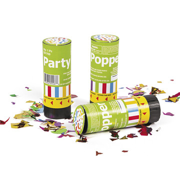Confetti Poppers (12 Pack)