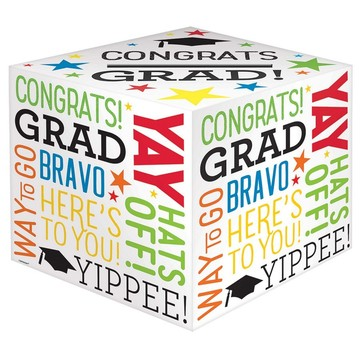Congrats Grad Card Holder Box