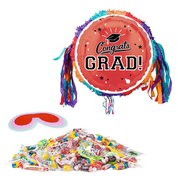 Congrats Grad Red Pinata Kit