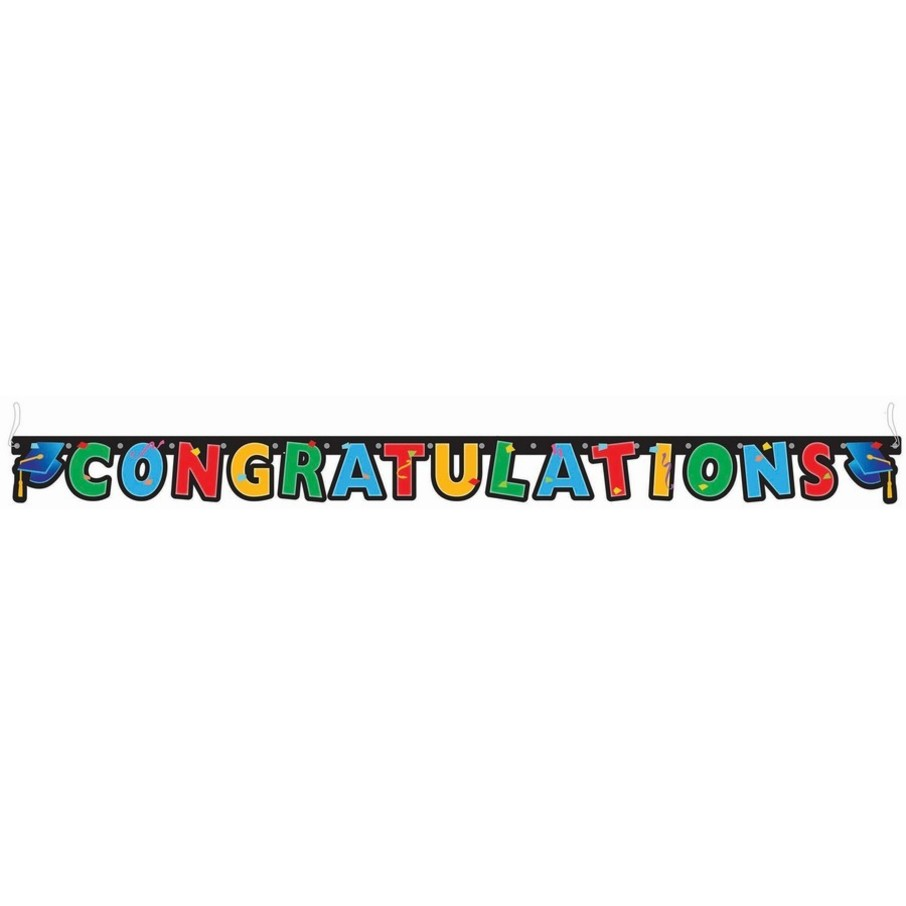 View larger image of Congratulations Graduation Letter Banner