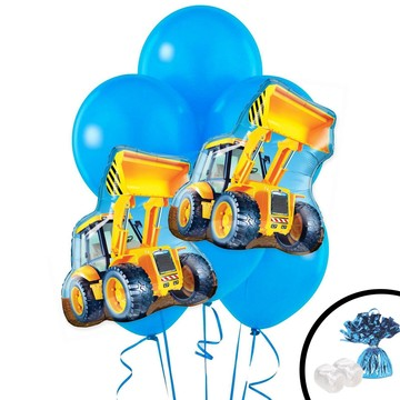 Construction Loader Jumbo Balloon Bouquet