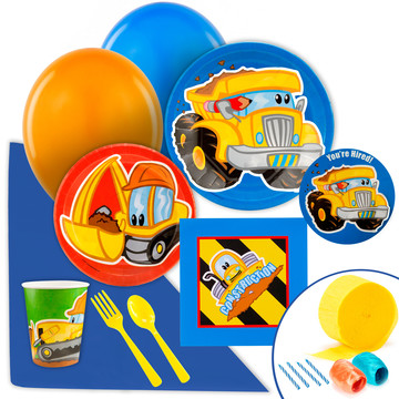 Construction Pals Value Party Pack