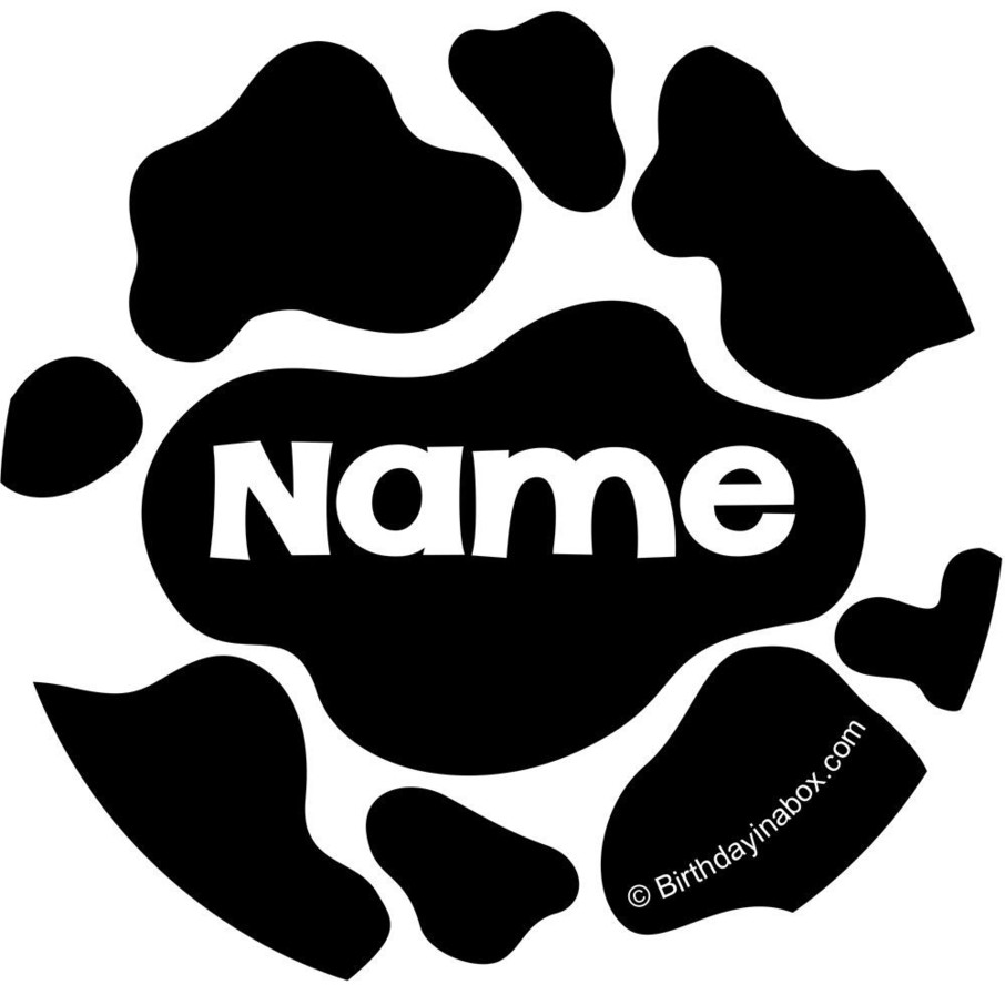View larger image of Cow Personalized Mini Stickers (Sheet of 24)