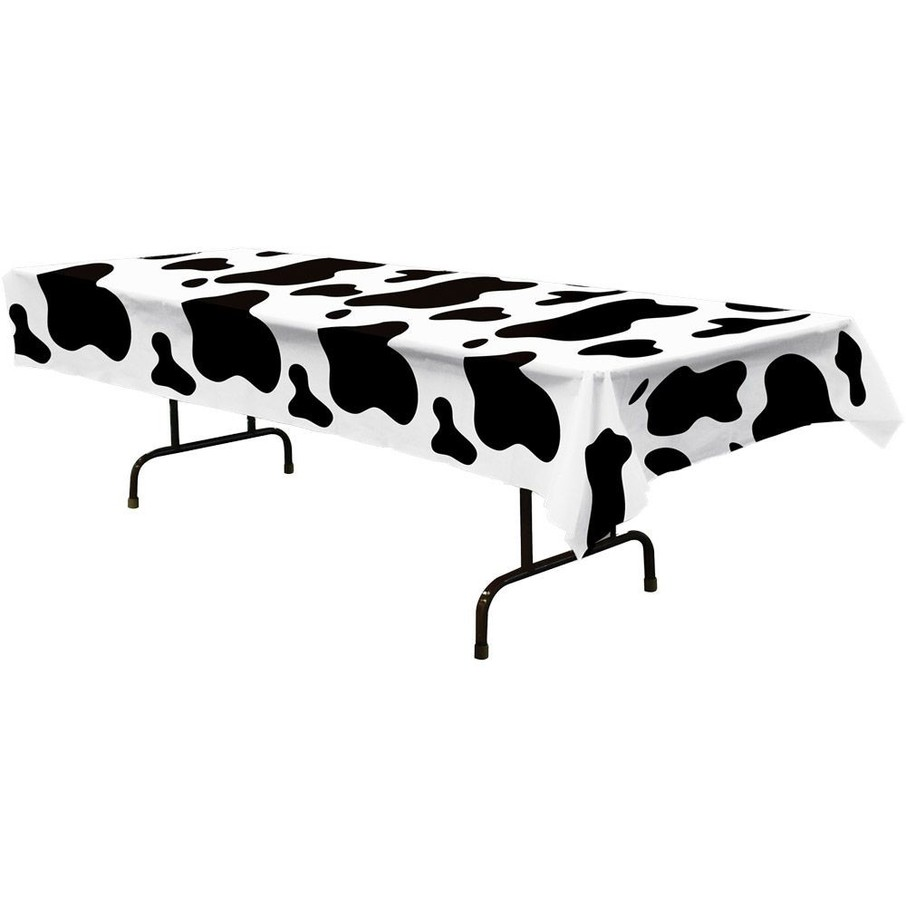 View larger image of Cow Print Table cover (Each)