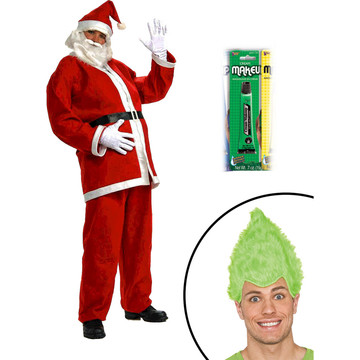 Crabby Christmas Villian Character Men's Kit