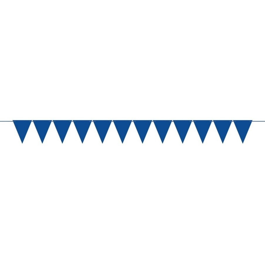 View larger image of Create Your Own Royal Blue Mini Pennant Banner (1)