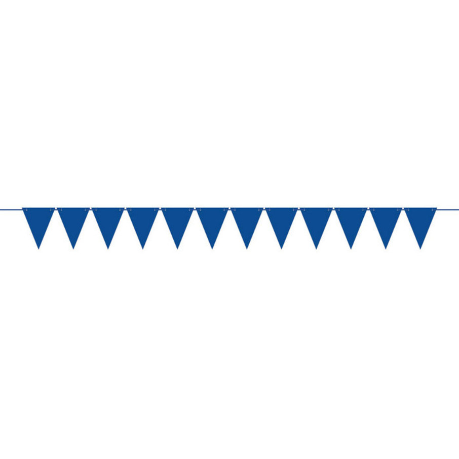 View larger image of Create Your Own Royal Blue Large Pennant Banner (1)