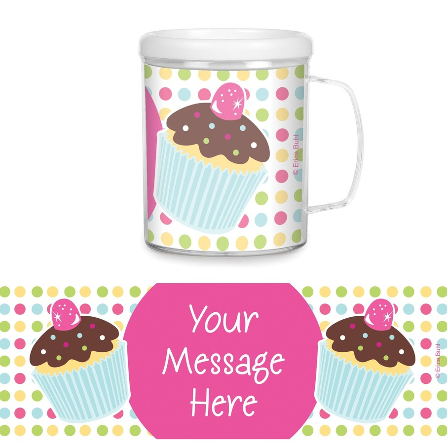 View larger image of Cupcake Birthday Personalized Favor Mugs (Each)
