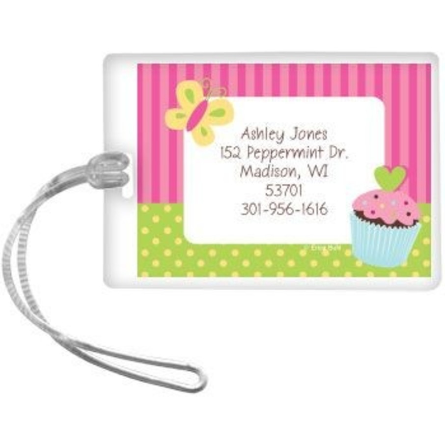 View larger image of Cupcake Birthday Personalized Luggage Tag (each)