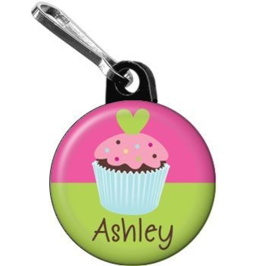 View larger image of Cupcake Birthday Personalized Mini Zipper Pull (each)