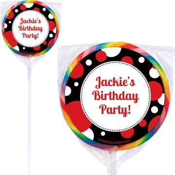 Cupcake Blowout Lollipops (Pack Of 12)