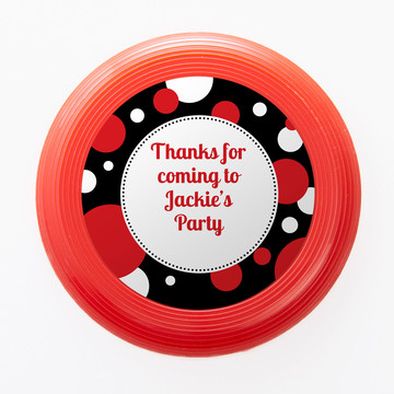 Cupcake Blowout Personalized Mini Discs (Set Of 12)