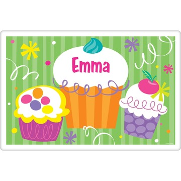 Cupcake Party Personalized Placemat (each)