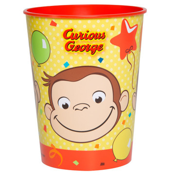 Curious George 16oz Plastic Favor Cup (1)